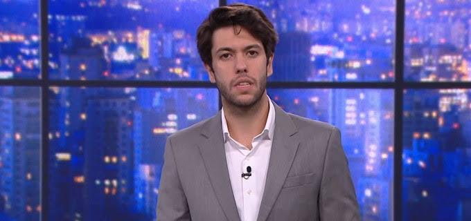 Caio Coppolla durante O Grande Debate (foto: Reprodução/CNN Brasil)