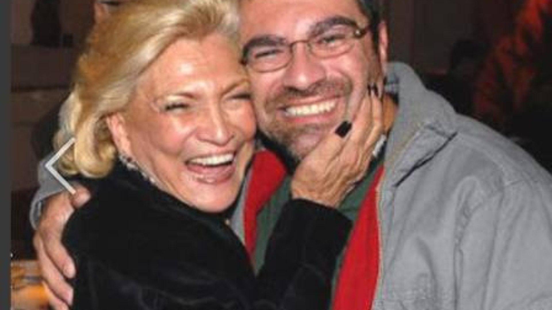Hebe Camargo e seu filho, Marcello (Foto: Divulgação)