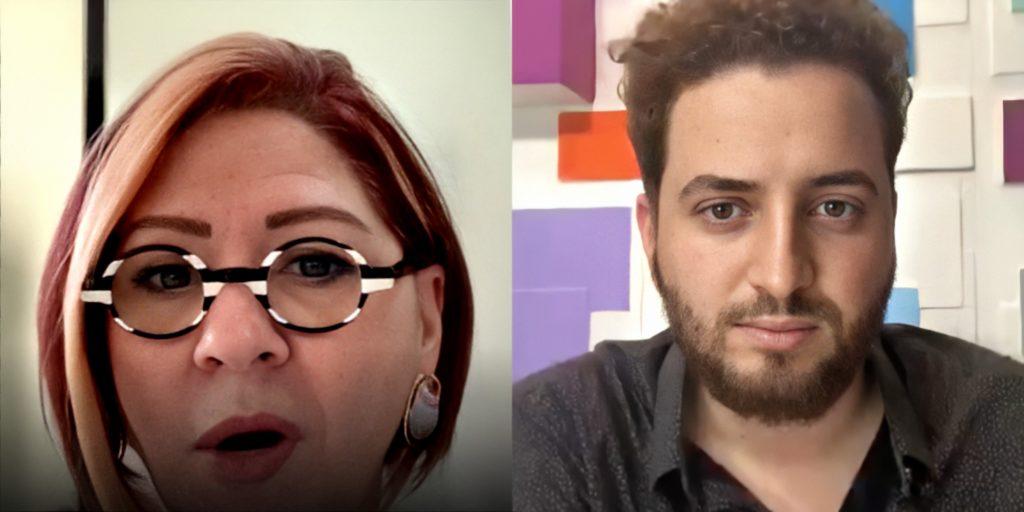 Dra. Anahy D'amico em entrevista ao jornalista Felipe Reis (Foto: Montagem)