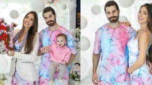 Filha de Alok e Romana Novais ganha primeiro look de grife e valor choca (Foto: Reprodução/Thalita Castanha)