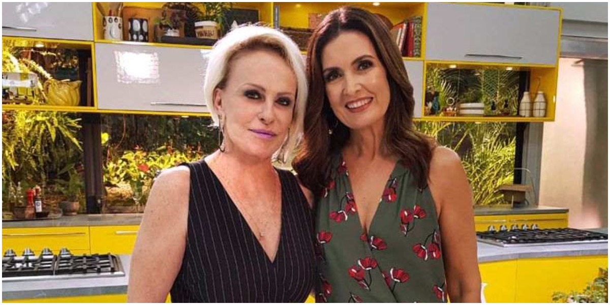 Ana Maria Braga e Fátima Bernardes (Foto: Globo)