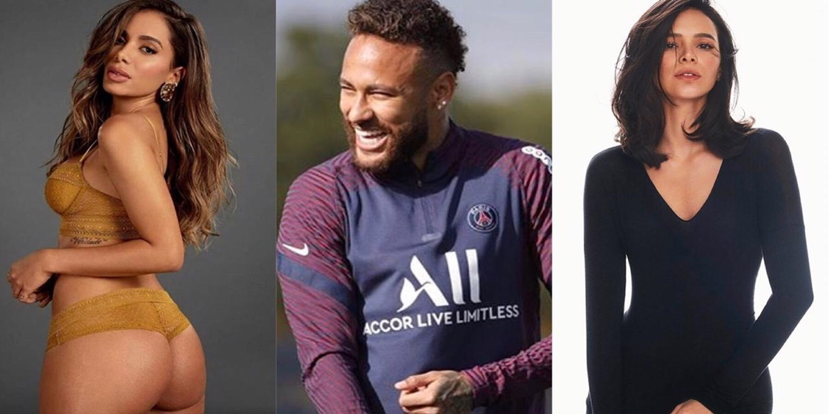 Anitta, Neymar e Bruna Marquezine