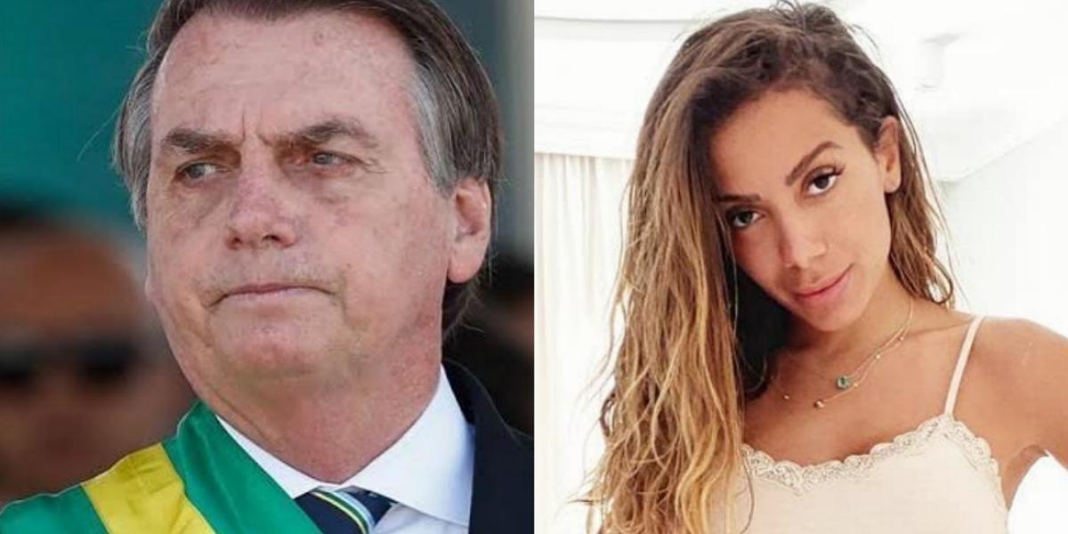 Anitta , Bolsonaro