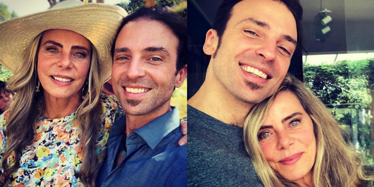 Bruna Lombardi revela que exposição do filho Kim Riccelli foi motivo da mudança para EUA (Foto: Reprodução/Instagram)