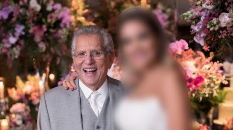 Carlos Alberto e esposa novinha (Foto: Reprodução)