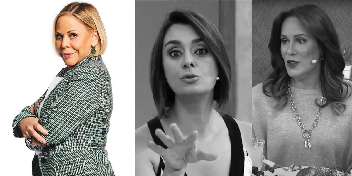 Claudete Troiano, Catia Fonseca e Regina Volpato (Foto: Montagem)