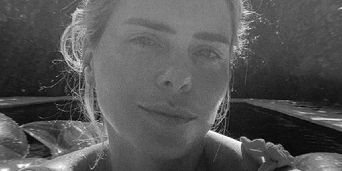 Carolina Dieckmann lamentou perda da tia (Foto: Reprodução)