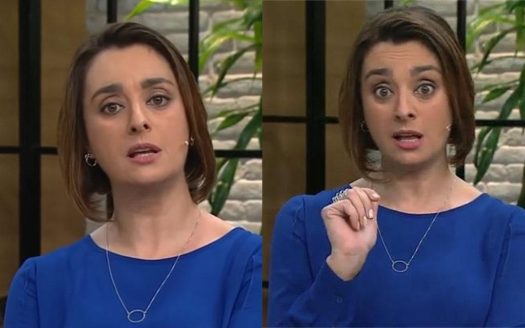 A apresentadora Cátia Fonseca (Foto: Divulgação)