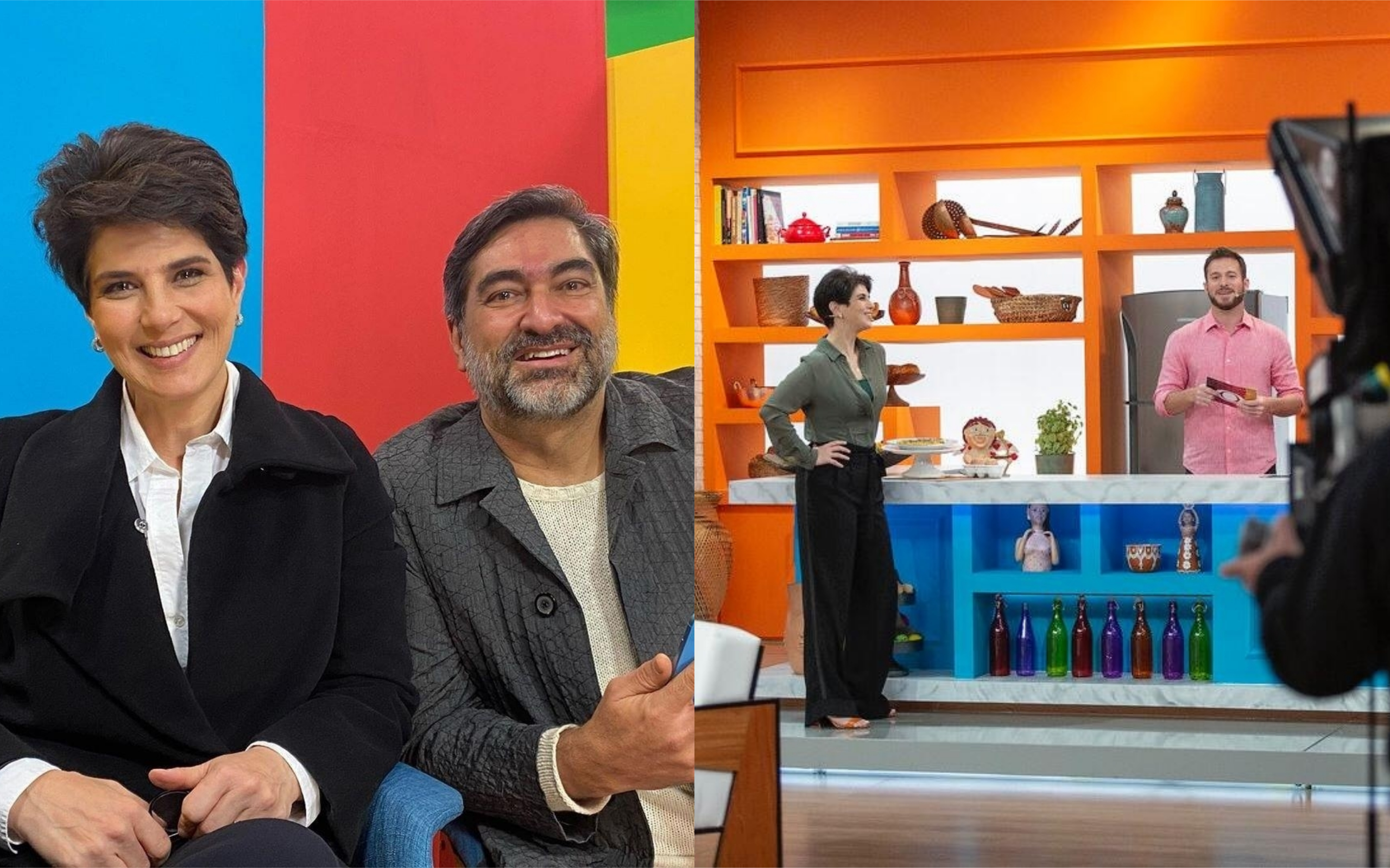 Mariana Godoy e Zeca Camargo com novo programa na Band (Foto: Divulgação)