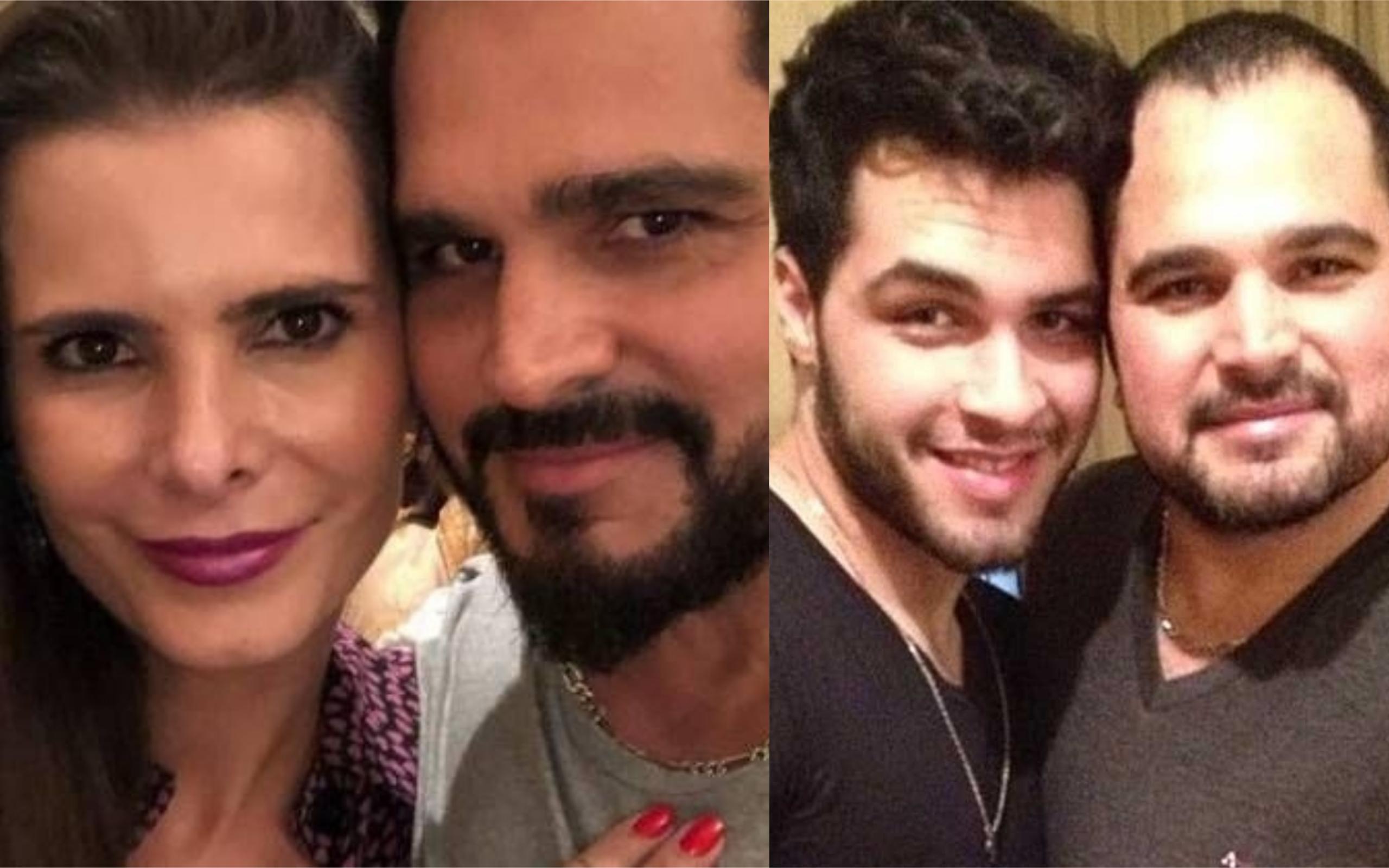 Flavia Camargo, Luciano Camargo e Nathan (Foto: Divukgação)