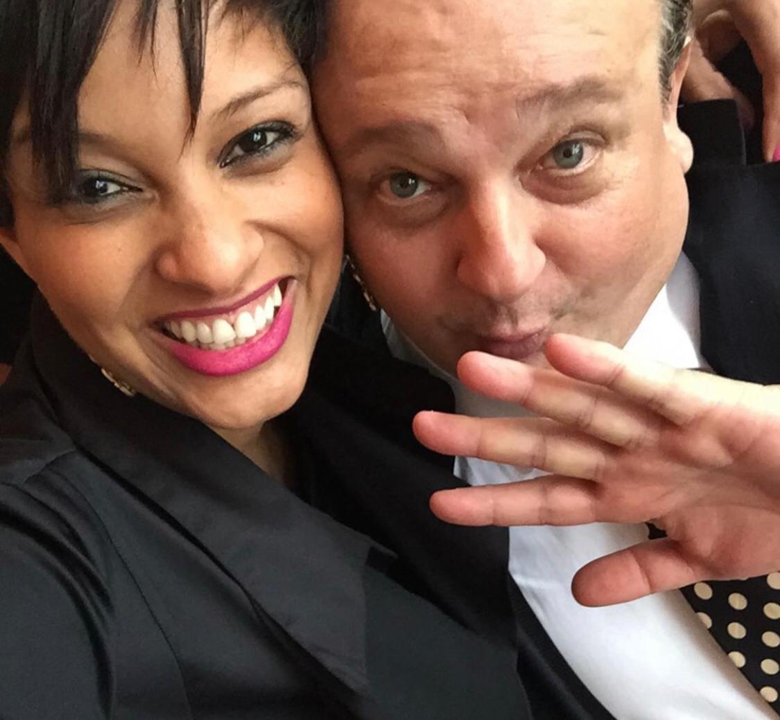 Rosângela Menezes e Érick Jacquin (Foto: Reprodução)