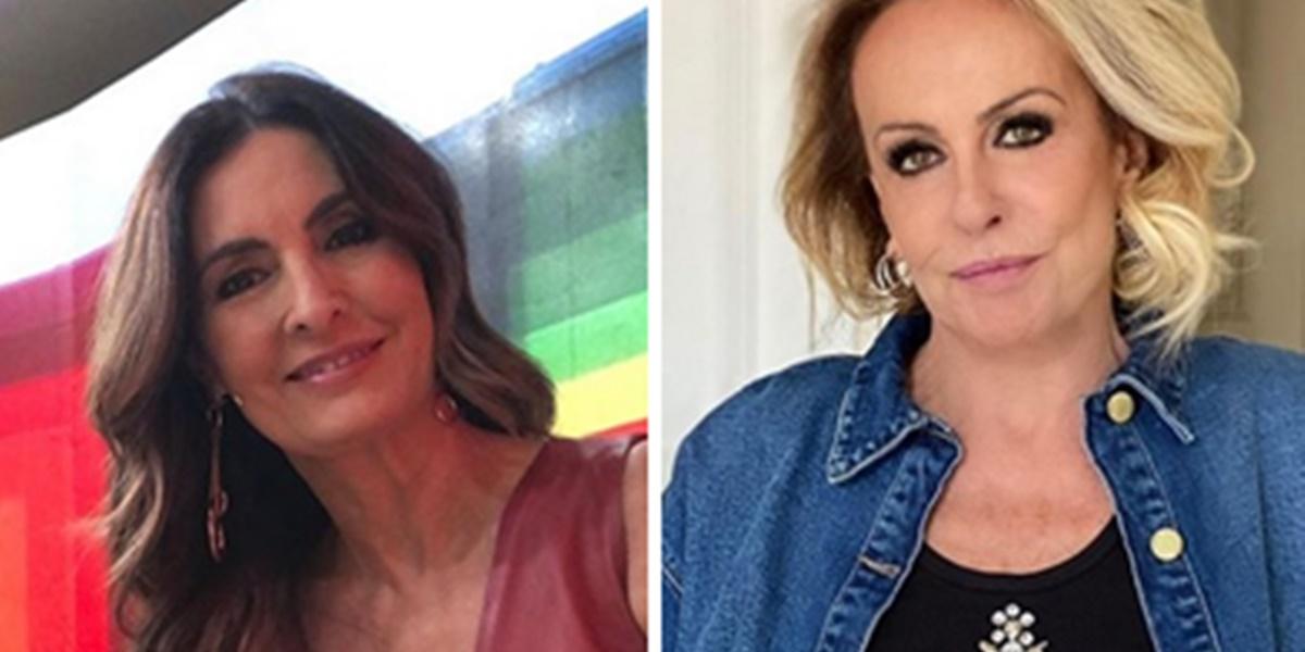 Fátima Bernardes e Ana Maria Braga vivem guerra nos bastidores da Globo (Foto: Montagem/TV Foco)