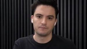 Felipe Neto participou de programa na GloboNews (Foto: Reprodução)