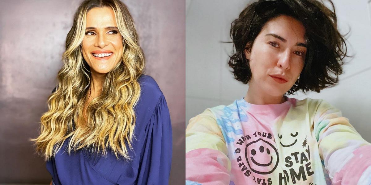 Em live, Fernanda Paes Leme revela que ganhou quebrar vibrador, ganhou um novo de Ingrid Guimarães (Foto: Reprodução/Instagram)