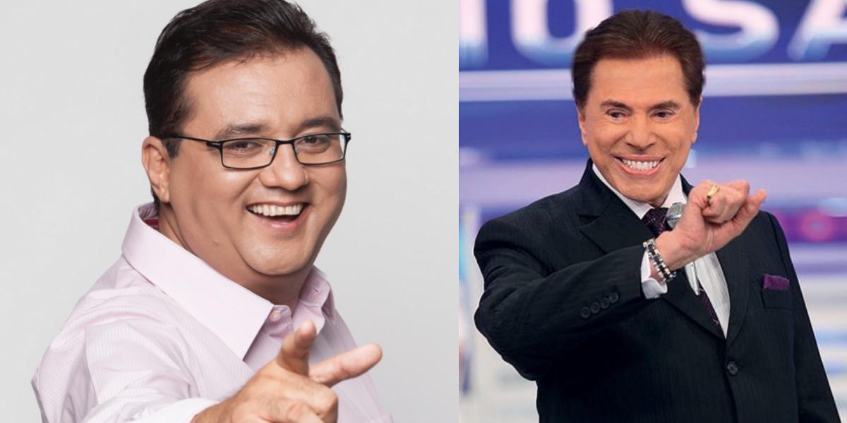 Geraldo Luís pode ser contratado pela emissora de Silvio Santos (Foto: Reprodução/Record/SBT)