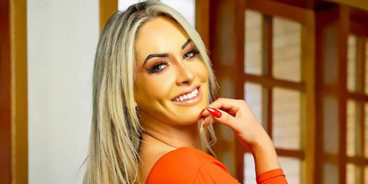 Iara Ferreira levou tombo em casa e foi encontrada desacordada (Foto: Reprodução)