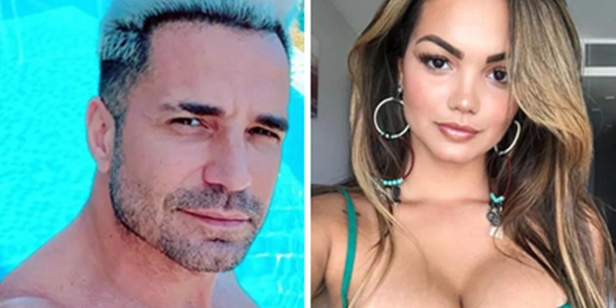 Latino foi exposto por filha em público (Foto: Montagem)