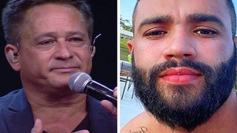 Público quer live de Leonardo e Gusttavo Lima (Foto: Montagem/TV Foco)