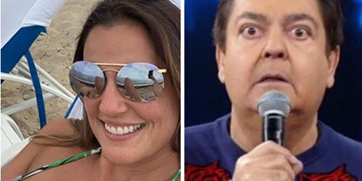 Luciana Cardoso publicou fotos provocantes em seu Instagram (Imagem: Montagem/TV Foco)