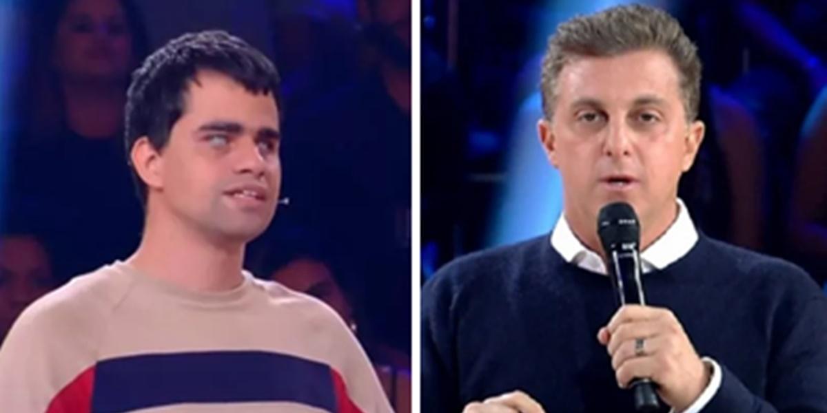 Participante do programa de Luciano Huck na Globo foi vítima de discriminação (Foto: Montagem/TV Foco)