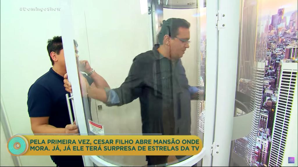 Geraldo Luís na cápsula (Foto: Reprodução)
