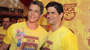Marcio Garcia e irmão já fizeram sexo a três - Foto: Reprodução