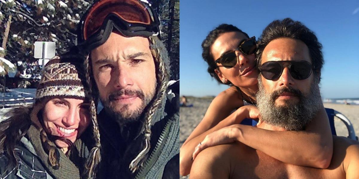 Esposa de Rodrigo Santoro celebra aniversário do ator e relembra relação do casal (Foto: Reprodução/Instagram)