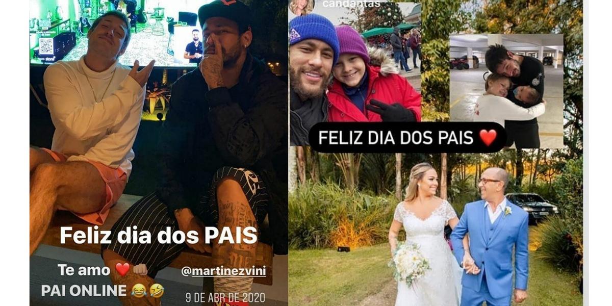 Jogador de futebol, Neymar recebe homenagem de Carol Dantas (Foto: Reprodução/Instagram)