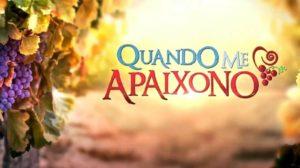 Logo da novela Quando Me Apaixono (Foto: Reprodução)
