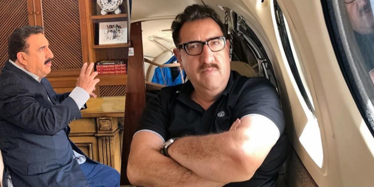 Ratinho concedeu uma entrevista bomba ao apresentador Felipeh Campos (Foto montagem)