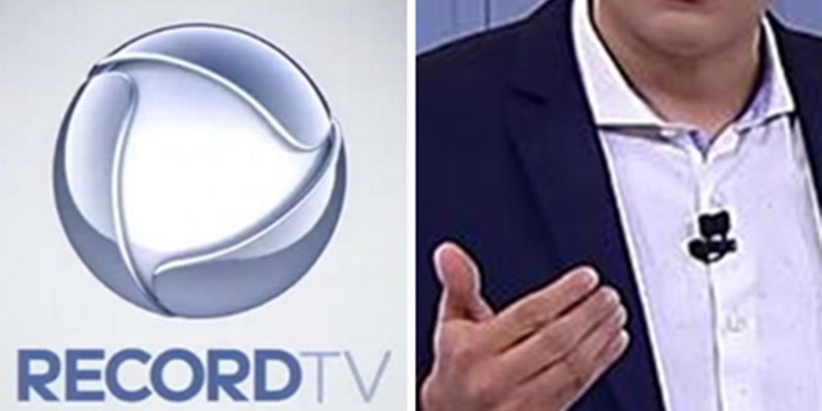 Apresentador foi afastado dos trabalhos na Record TV (Imagem: Montagem/TV Foco)