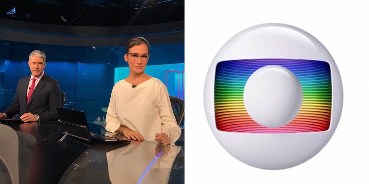Renata Vasconcellos, William Bonner, Globo