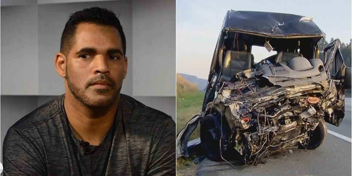Sampa Crew: Ricardo Anthony se envolveu em grave acidente e acabou perdendo a visão (Foto: Montagem)