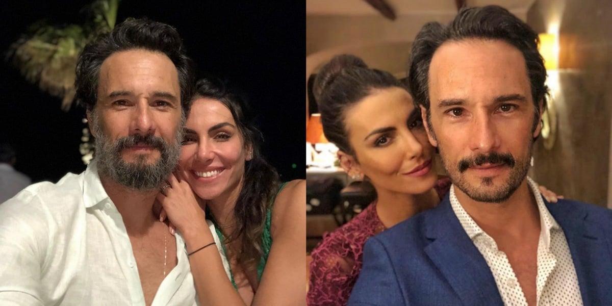 Mel Fronckowiak, esposa de Rodrigo Santoro, se declara para e relembra história com o ator (Foto: Reprodução/Instagram)