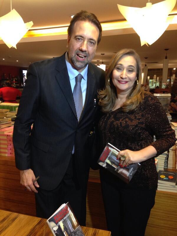 Sonia Abrão e Jorge Lordello (Foto: Reprodução)