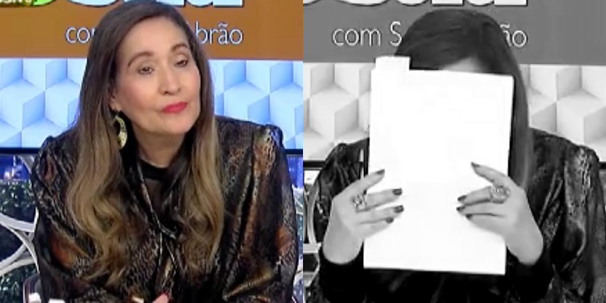 Sonia Abrão do programa A Tarde é Sua (Foto: Montagem)