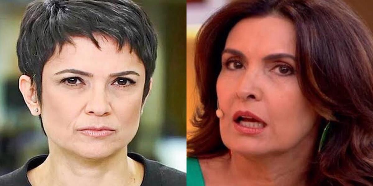 Sandra Annenberg, Fátima Bernardes