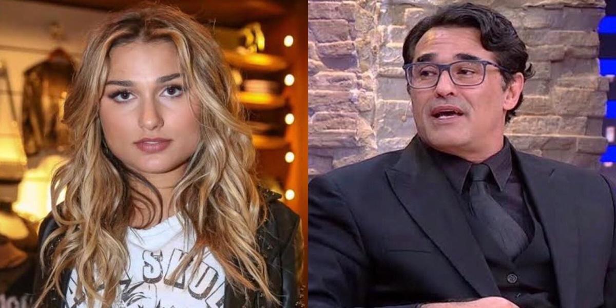 Sasha Meneghel, Luciano Szafir