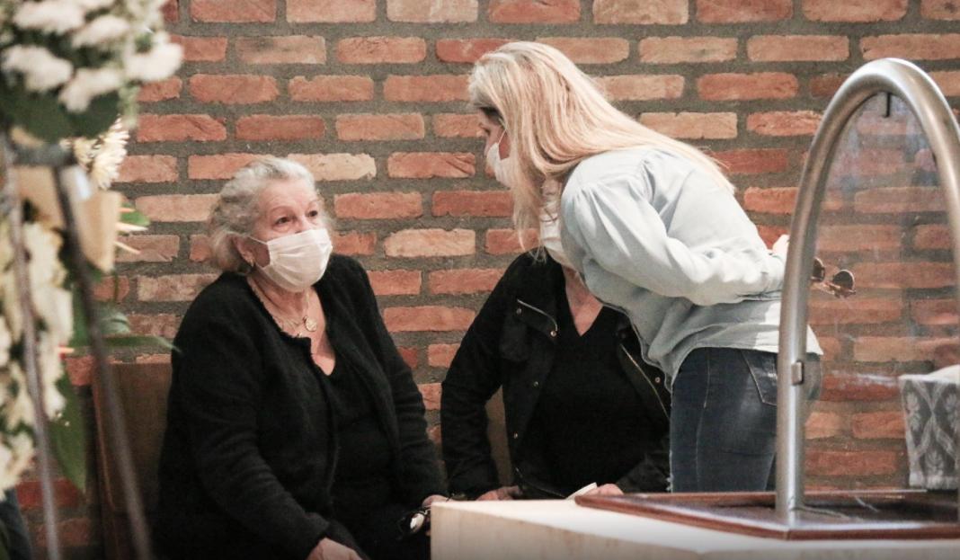 Velório de Arnado (Foto: AgNews/ Reprodução)