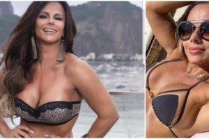 A atriz da Globo, Viviane Araújo (Reprodução)