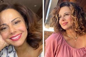 Viviane Araújo foi obrigada a ter que adiar planos para engravidar (Foto: Montagem/TV Foco)