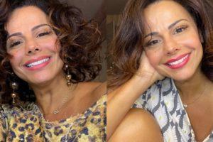 Viviane Araújo aparece com rosto irreconhecível e fãs apontam procedimento estético (Foto: Reprodução/YouTube)