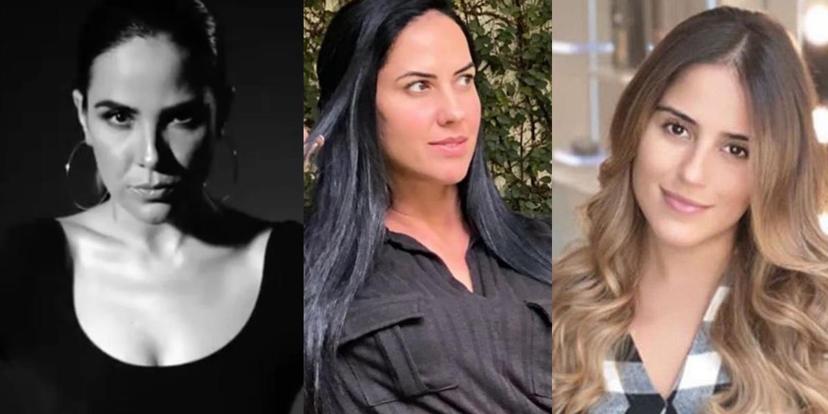 Wanessa, Graciele Lacerda e Camila Camargo (Foto: Montagem)