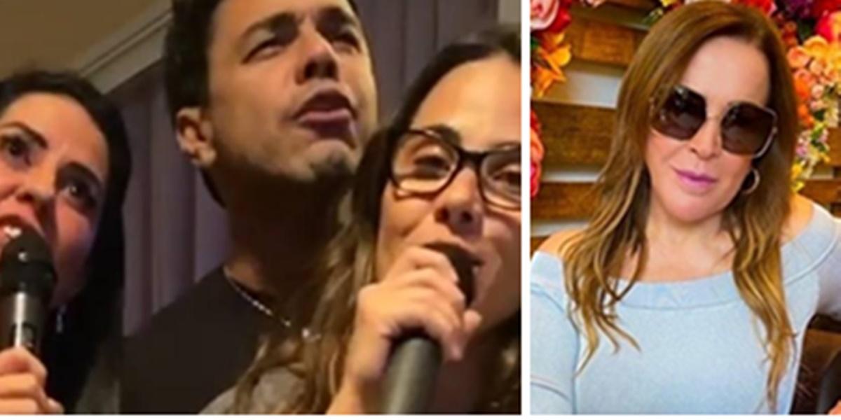 Wanessa Camargo se aliou a Zezé e se voltou contra a mãe (Foto: Montagem/TV Foco)