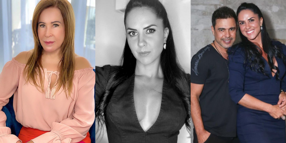 Zilu, Graciele Lacerda e Zezé di Camargo (Foto: Montagem)
