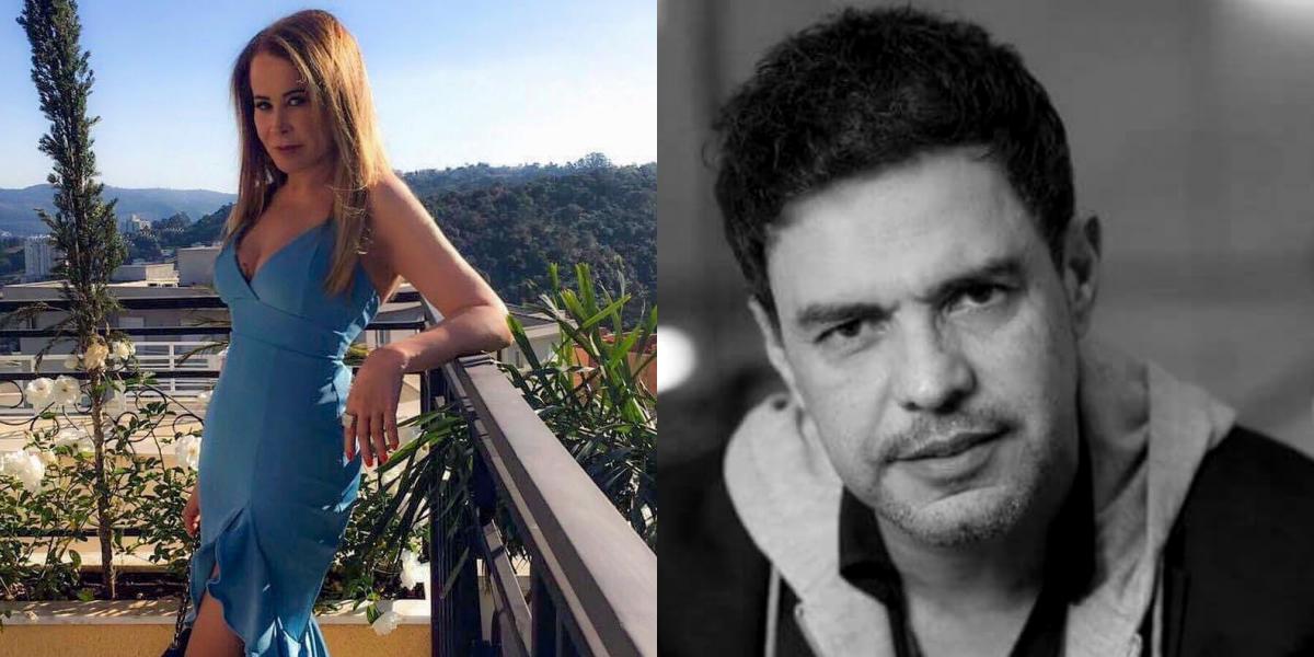Zilu Godoi e o ex-marido, Zezé di Camargo (Foto: Montagem)