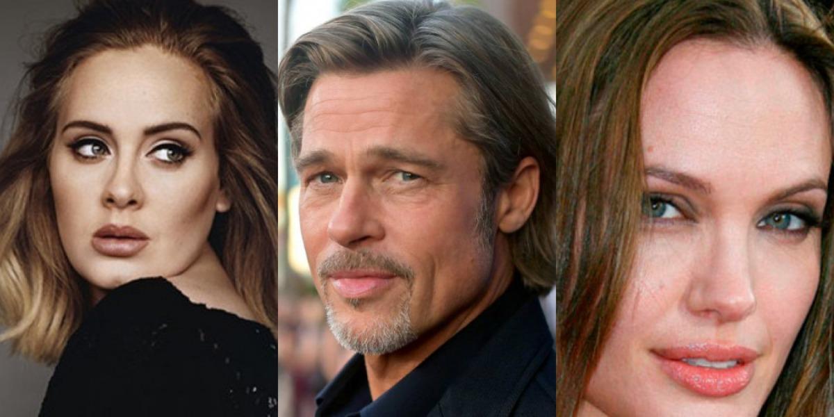 Fontes próximas a Brad Pitt afirmam que ele está vivendo um affair com Adele (Foto: Reprodução)
