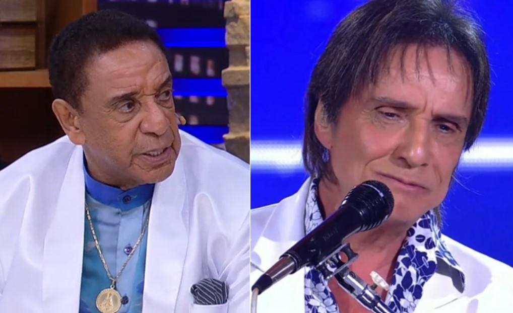 Agnaldo Silva soltou o verbo sobre Roberto Carlos - Foto: Montagem