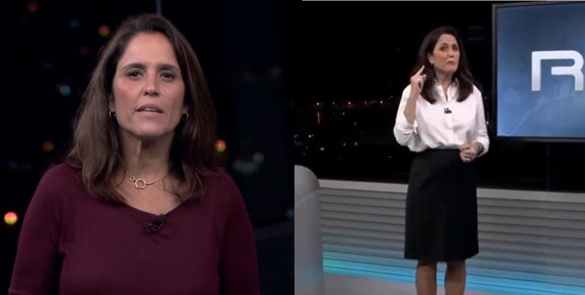 Jornalista da Globo se atrapalha em noticiário (Foto: Reprodução)