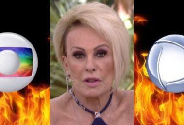 Ana Maria Braga tem brigado pelo Mais Você (Foto: Reprodução/TV Globo)